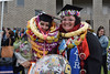 "Two graduates all smiles on the Great Lawn. The University of Hawaii–West Oahu held spring commencement on May 4, 2019 at the Lower Courtyard.  View more photos on the UH West Oahu Flickr site at:  <a href=""https://www.flickr.com/photos/uhwestoahu/albums/72157678118707327"">www.flickr.com/photos/uhwestoahu/albums/72157678118707327</a>"