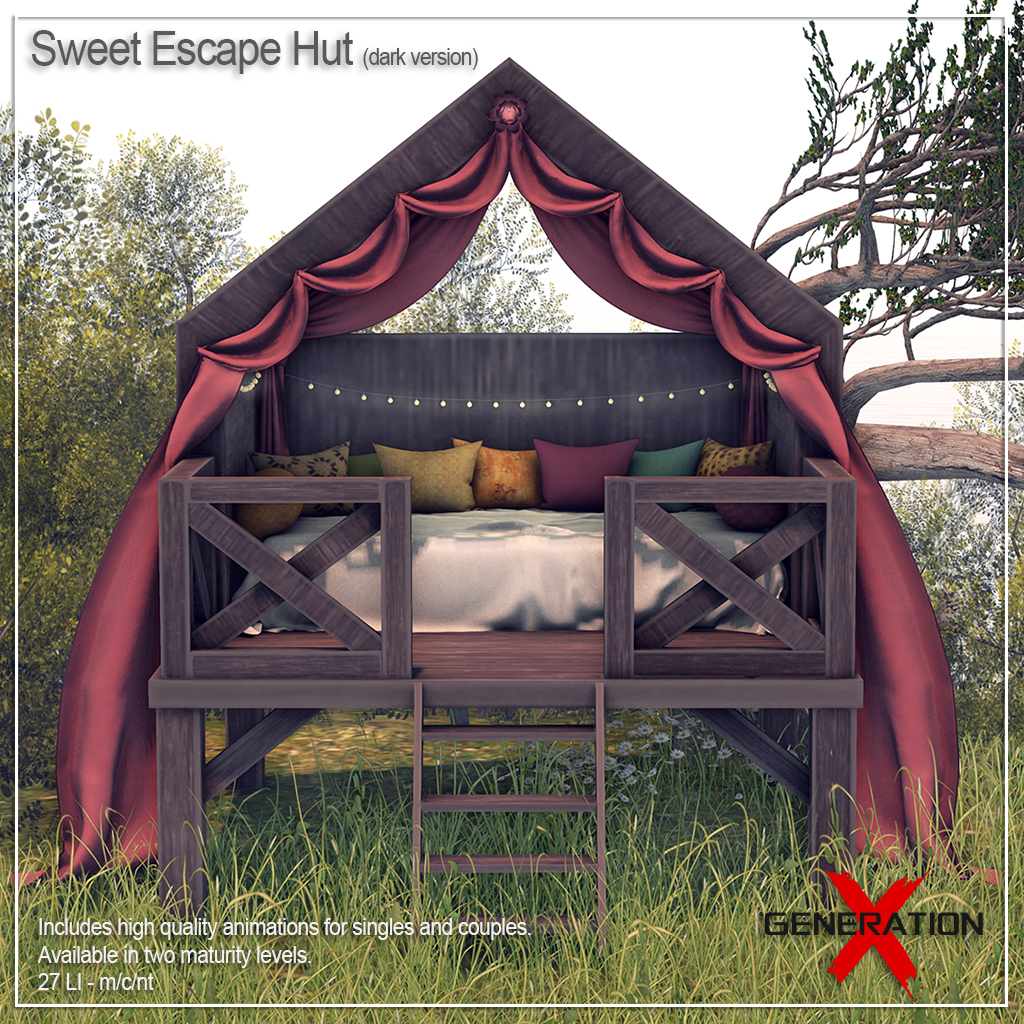 [Generation X] Sweet Escape Hut - dark version - TeleportHub.com Live!