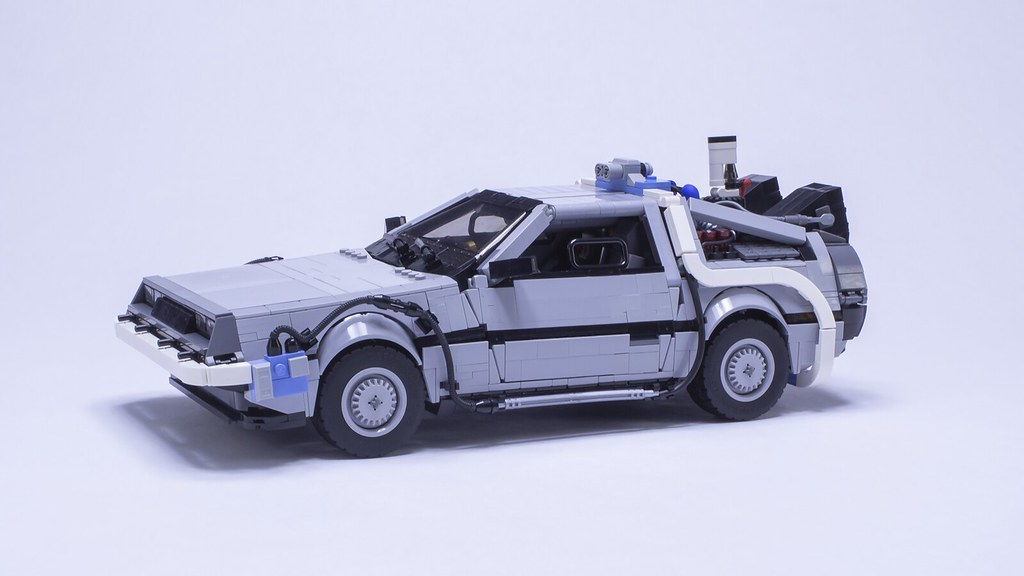 BTTF2 DeLorean - Sitting pretty