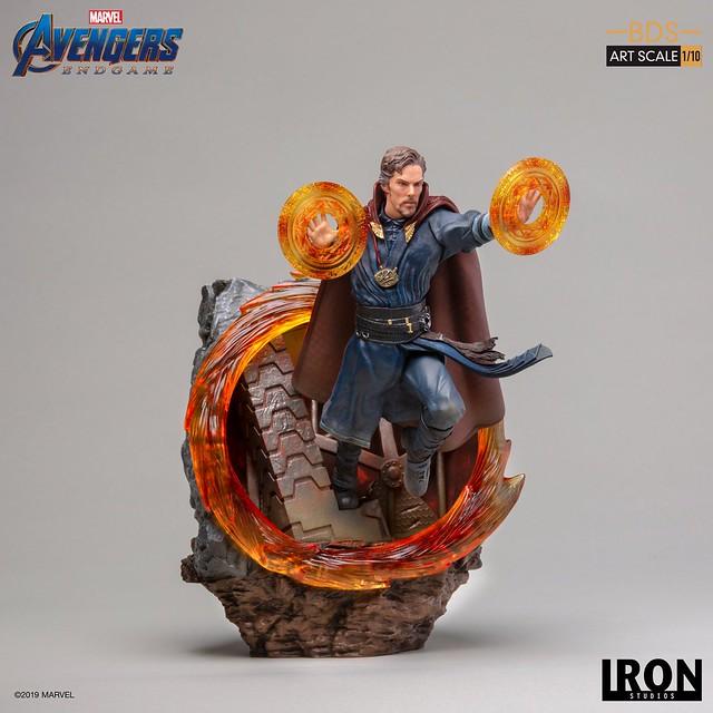 Iron Studios Battle Diorama 系列《復仇者聯盟:終局之戰》奇異博士 Doctor Strange 1/10 比例決鬥場景雕像作品