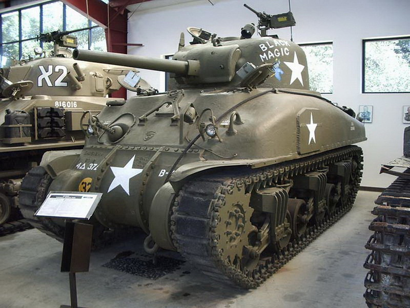 De M4A1 Sherman 00001
