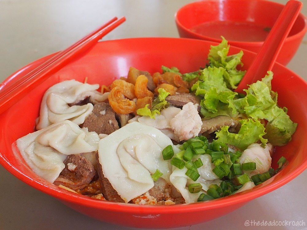 bak chor mee, commonwealth crescent market & food centre, food, food review, huang da fu, minced meat noodle, review, singapore, 肉脞面, 肉脞麵, 黄大福,