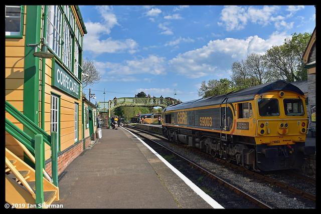 No 59003 Yeoman Highlander 11th May 2019 Swanage Railway Diesel Gala