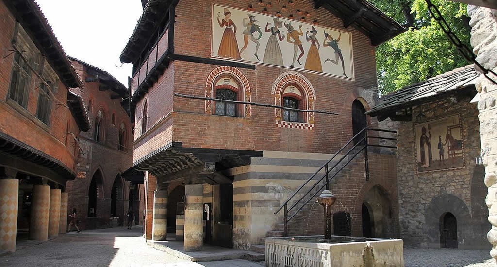 Borgo Medievale, Turijn | Mooistestedentrips.nl