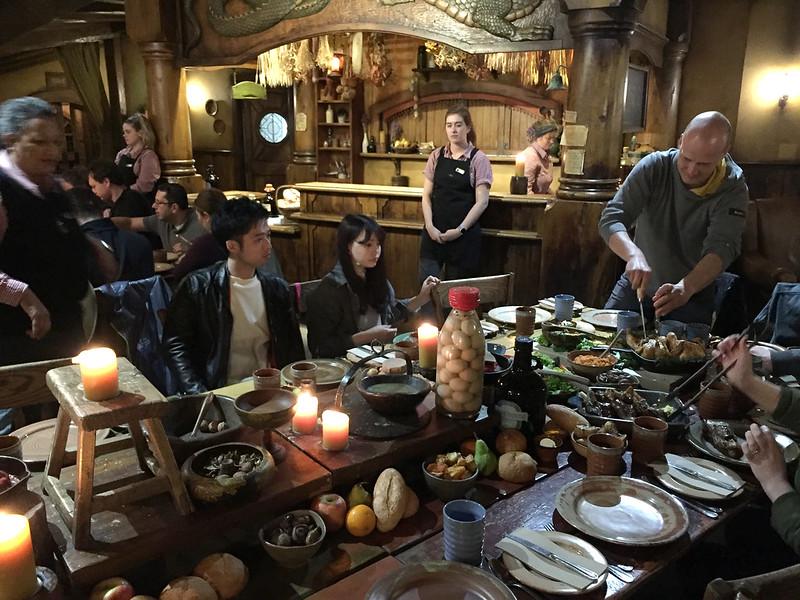 Travelling the Waikato Region - Hobbiton Village evening feast