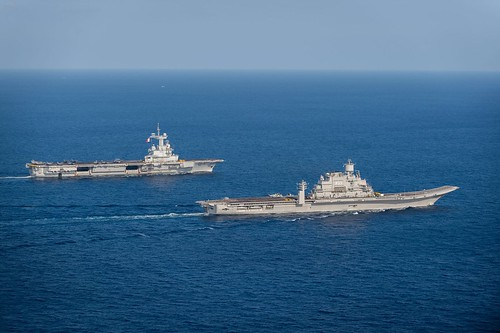 Indian and French navies conduct Varuna 19.1 bilateral exercise off Goa Coast. | by FranceinIndia