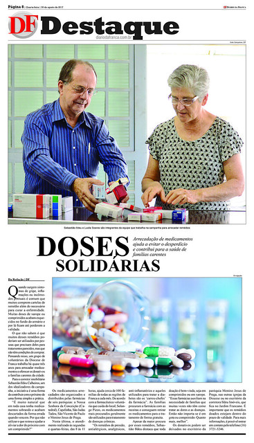 Doação Medicamentos Sebastião Ildeu Calheiros da Ildeu Imoveis