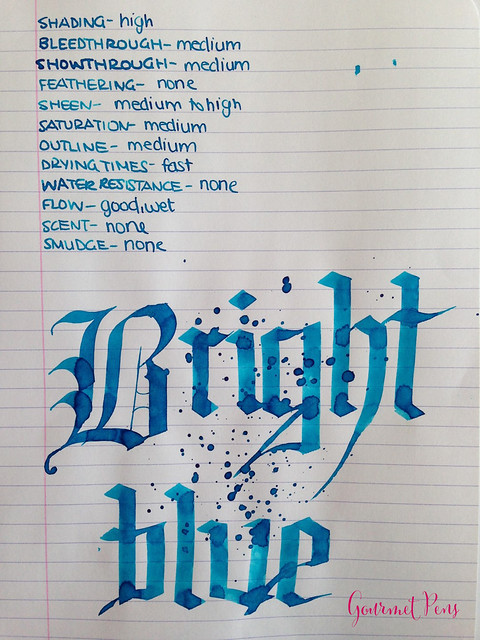 Toucan Bright Blue Ink Review 5