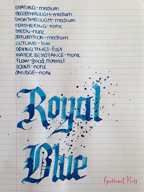 Toucan Royal Blue Ink Review 5