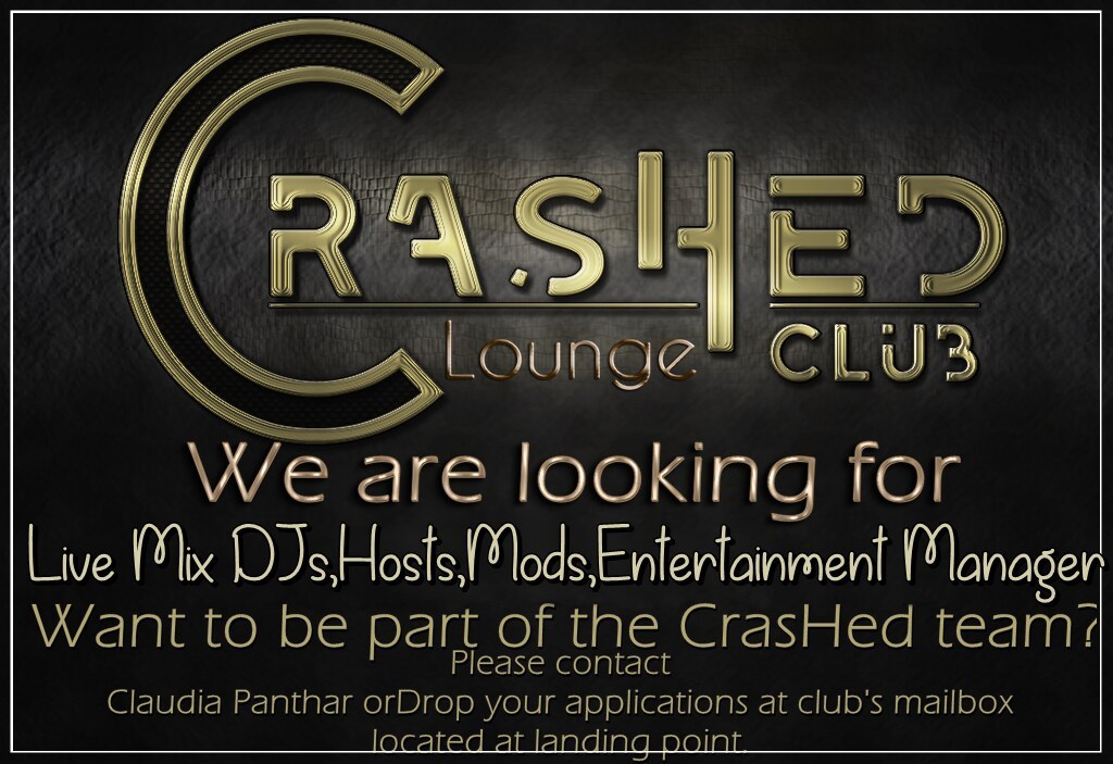 CrashedTeam Hiring