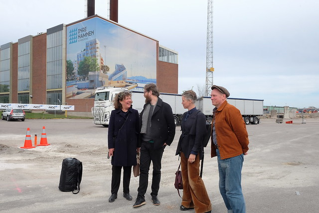 Barbro Westling, Michael Johansson, Åsa Jungelius och Peter Johansson