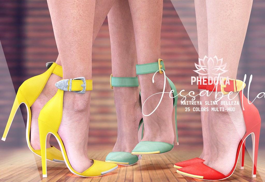 "Phedora. for Kustom9 – ""Jessabella"" heels ♥"