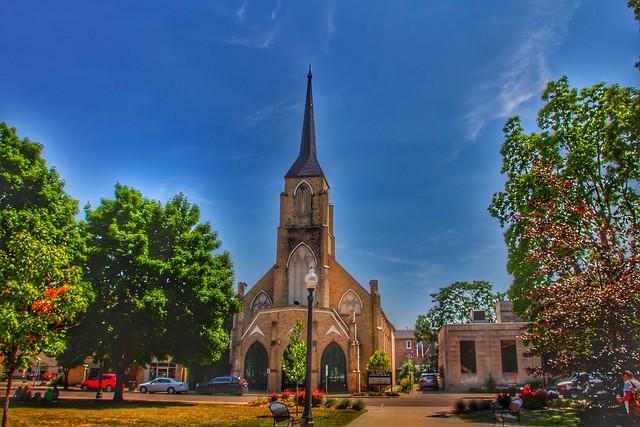 Brantford Ontario - Canada  - St. Andrew's United Church -  Heritage