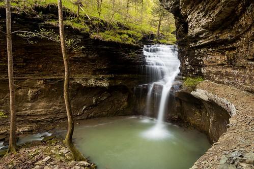 ladderbucketfalls ozarknationalforest arkansas waterfalls