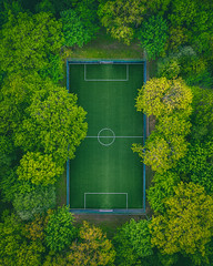 Green football pitch | KTU | Kaunas #135/365 [Explored]