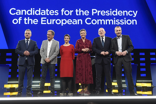Debate of lead candidates for the European Commission presidency | by European Parliament