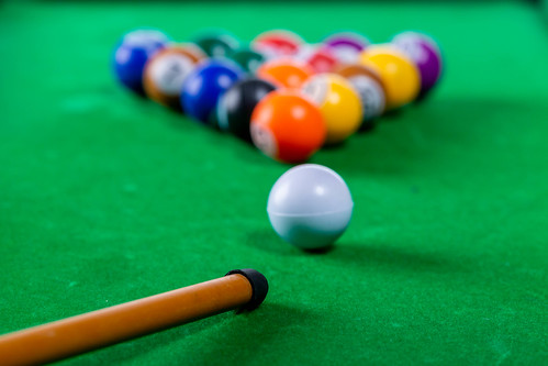 Playing Billiards with balls on the table | by wuestenigel