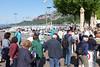 Den Morgen genießen, auf der Promenade von Garda
