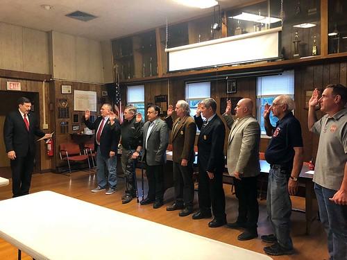 Westchester Fire Chiefs Swearing In