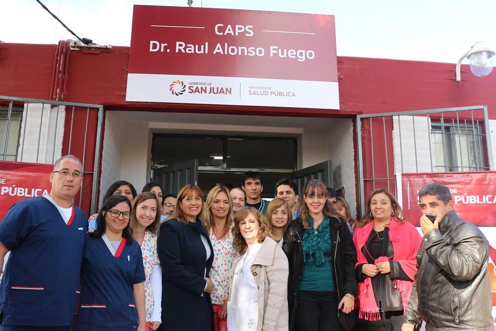 2019-05-16 SALUD: Inauguración Remodelaciones CAPS Alonso Fuego