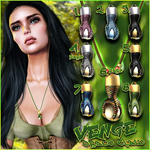 VENGE - Gacha - Draco Claw Necklace Advert
