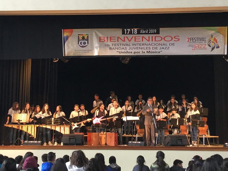 Big Band Max Uhle en La Paz 2019