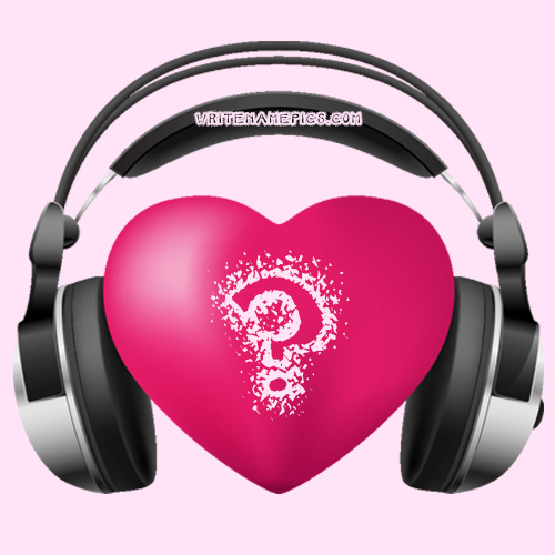 Love Music Heart Images With Name Alphabet Editor - a photo