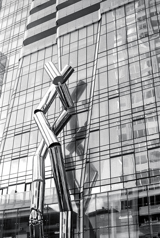 Sculpture at One Bloor St. East