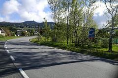 Ještěd na kolečkových lyžích ze tří stran