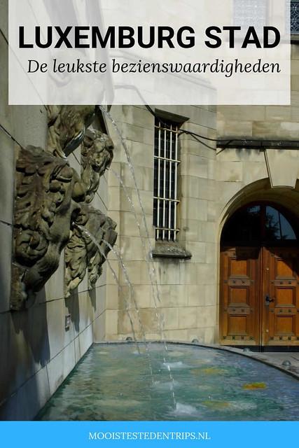 Bezienswaardigheden Luxemburg Stad | Mooistestedentrips.nl