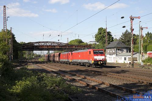 189 031 + 189 032 . DB Cargo . 48717 . Düsseldorf Rath . 15.05.19.