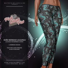 Kore Mermaid Leggings