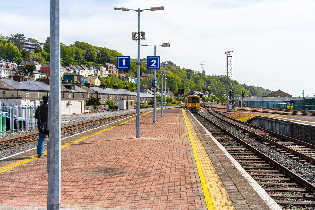 THERE IS A TRAIN EVERY HALF HOUR FROM KENT STATION TO COBH 006