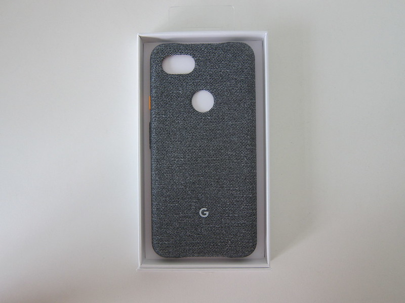 Google Pixel 3a XL Fabric Case - Box Open