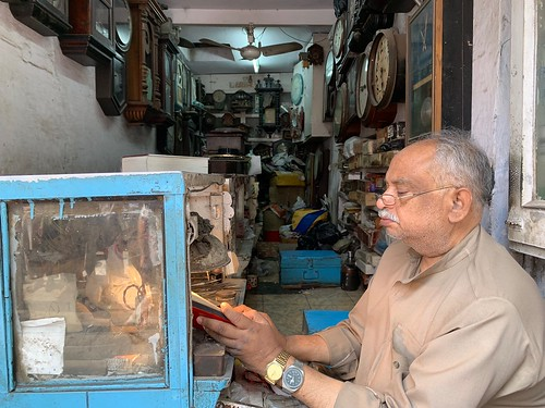 City Landmark - Hafizji's Old Clock Shop, Old Delhi