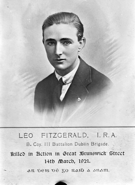 Leo Fitzgerald, killed in action.
