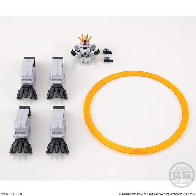 戰慄的巨神甦醒!FW GUNDAM CONVERGE EX27《機動戰士鋼彈NT》NZ-999 Ⅱ新吉翁克 / 專用配件包(セカンドネオ・ジオング / オプションパーツセット)
