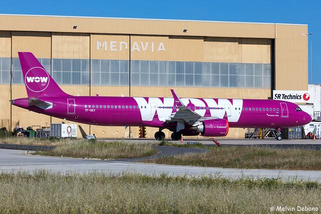 WOW Air Airbus A321-253N  |  TF-SKY  |  LMML