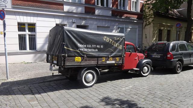 ab 1954 Kleintransporter mit Pritsche V901/2 von VEB Framo in Hainichen Kietz in 12555 Berlin-Köpenick