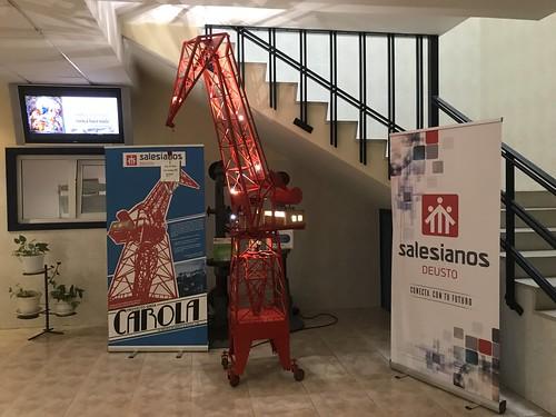 Visita preparatoria de la Conferencia sobre Tesla y Energía en Salesianos Deusto