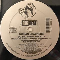NUBIAN CRACKERS:DO YOU WANNA HEAR IT?(LABEL SIDE-B)