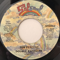 DOUBLE EXPOSURE:TEN PERCENT(LABEL SIDE-A)