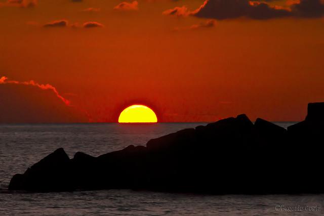 Tramonto siciliano 2 - Sicilian sunset 2