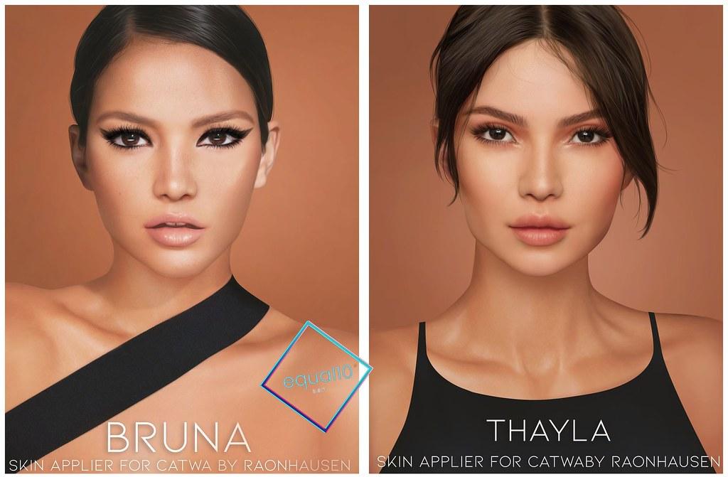 RAONHAUSEN –  Bruna & Thayla Skin @ equal10