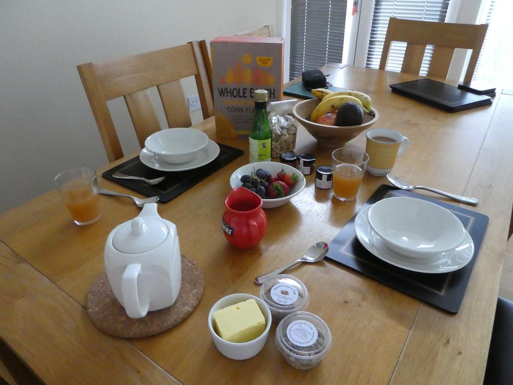 Breakfast Croft Mill Aparthotel