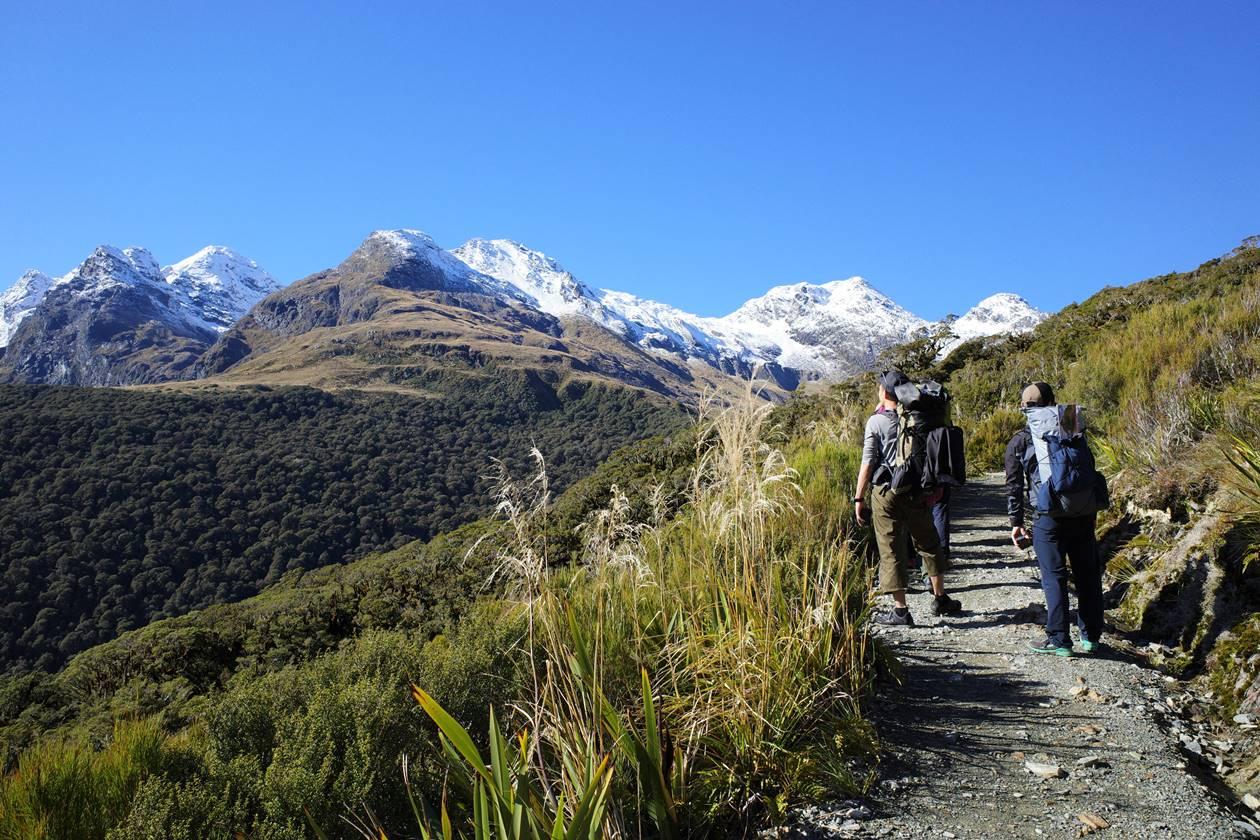 GWのニュージーランド旅行 2泊3日のルートバーントラック
