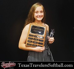 Congratulations Madison for 2nd Team All District and second year in a row to receive the Utility Player Of The Year award!