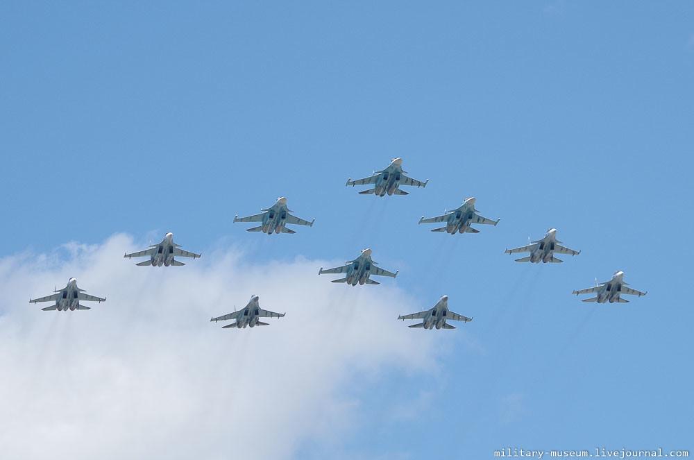 Подготовка к авиапараду 9 мая в Москве-55