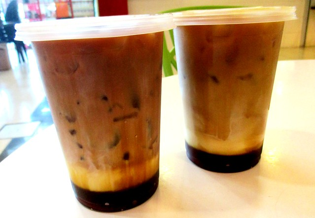 Three-layer tea & coffee