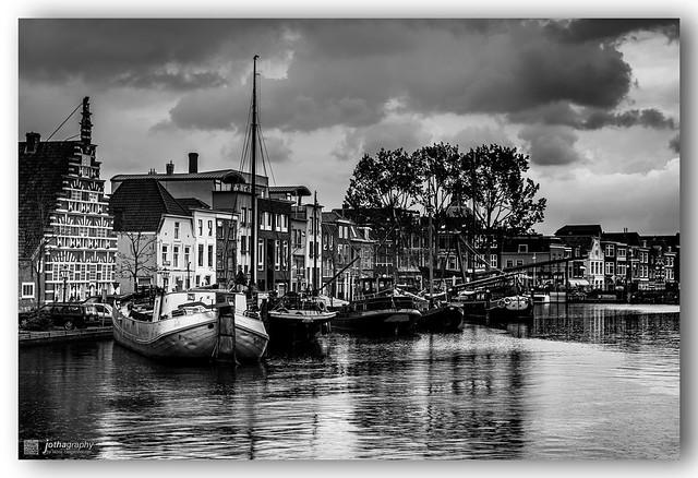 Rain in Leiden